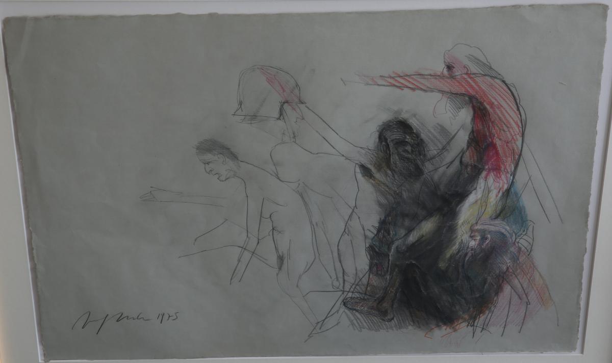 Figurenstudie - 1975