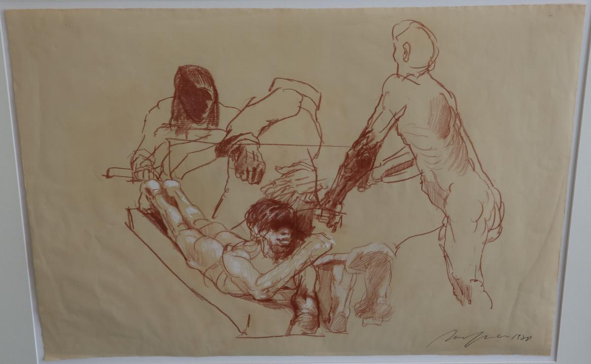 Figurenstudie - 1978